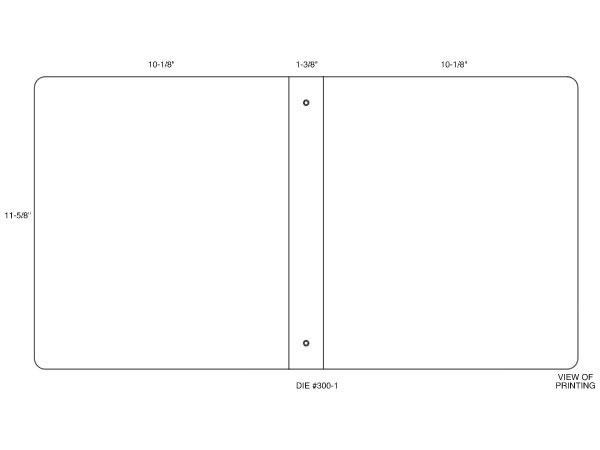 Custom ring binder template volpe packaging for Half inch binder spine template
