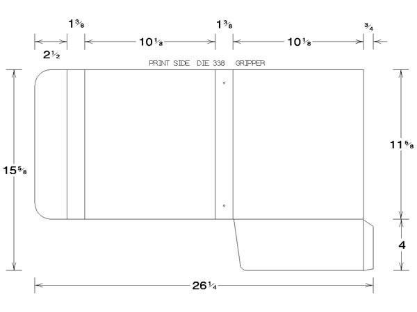 custom ring binder template volpe packaging