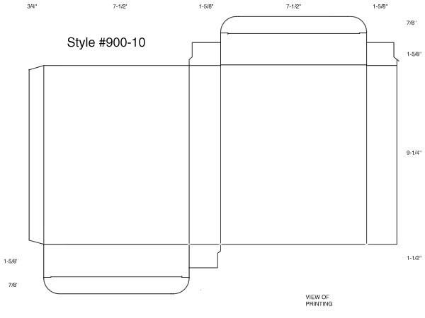 Box Template Macintosh Eps